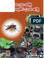 Dengue Prevention Booklet (2011) Sinhala