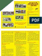 Dengue Leaflet (Sinhalese) 2013