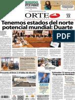 Periódico Norte edición impresa día 13 de febrero 2014