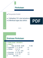 Drainase Perkotaan ITM 2013-14