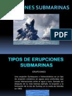 Erupciones Submarinas