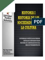 Cronograma de Sesiones y Exposiciones Historia I Grupo B
