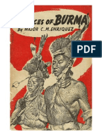The Races of Burma-1924