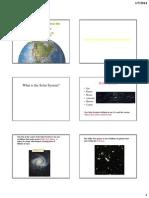 Earth Origin Slideshow