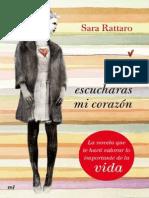 Si Escucharas Mi CorazoIn - Sara Rattaro