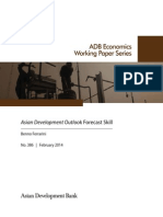 Asian Development Outlook Forecast Skill