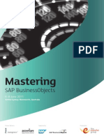 Mastering SAP BusinessObjects 2011