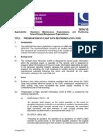 AIRCOM2010_10 - Preservation of Flight Data Recordings (CVR & FDR)