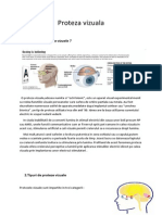 Proteza vizuala