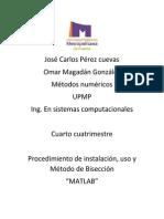 Reporte Matlab Metodo Biseccion(Carlo,Omar)