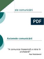 Axiomele comunicării