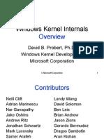Windows Kernel Internal Overview