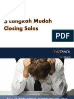 3 Langkah Mudah Closing Sales