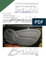 Quitar Panel Puerta Cambio Parlantes Ford Ka 2008 2011
