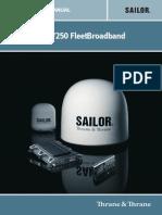 SAILOR FBB 500 Installation Guide