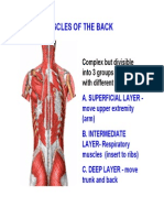 Muscles of Back Lectureff