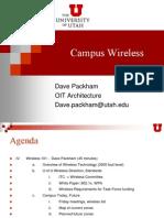 Campus Wireless Arch