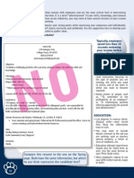 PSU Career Services (Resumes)