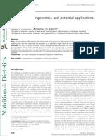 Ferguson, Research in Nutrigenomics, Nutr & Diet 2012