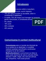 Comunicarea in Context Multicultural