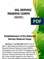 National Service Reserve Corps