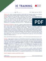 Pilula de Training Nr. 55, Tehnica Vice, 4 Feb Feb 2014