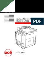 OCE 3121,3122 Service Manual