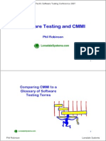 Software Testing and Cmmi
