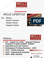 Wills Lifestyle ppt