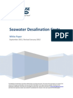 Seawater Desalination Costs