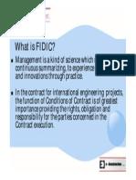 Defination of FIDIC