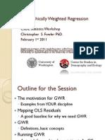 GWR Presentation