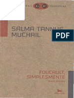 Salma Tannus Muchail - Foucault, Simplesmente