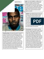 Vibe Magazine Cover Analysis