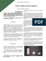 Paper-Clasificacion y Politicas de Inventarios