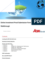 HP IPSF Submission Process Online 2013-14