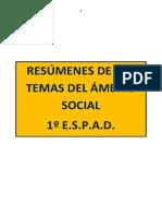 Resúmenes Sociales 1º ESPAD
