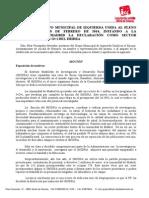 Moción de IU instando a la C. de Madrid a la declaración como sector prioritario del I+D+i del Encín