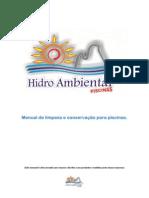 Manual de limpeza e conservação para piscinas PRONTO