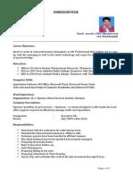 Suresh Resume