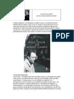 Camus a Vida Dos Livros