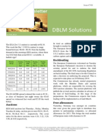 DBLM Solutions Carbon Newsletter 13 Feb 2014