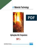Aço Inox - Aplicações em Alta Temperatura