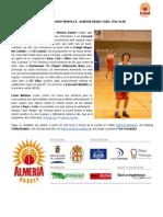 Previa Eurovent Montilla - Almería Basket | Sábado 15/02 18.30h