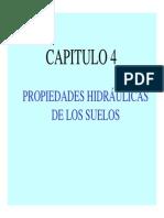 Cap. 4. Propiedades Hidraulicas 1