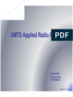 UMTS RF Interface and Applied Planning
