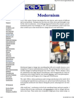 Modernism - History of the Art Movement