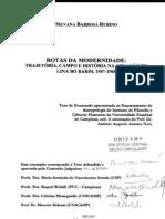RUBINO, S. B. Rotas da modernidade. Trajetórias, campo e história na atuaçã de Lina Bo Bardi, 1947-1968