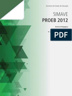 Proeb Lp 9ef 2012 Pedagogia Tecnologia Educacional