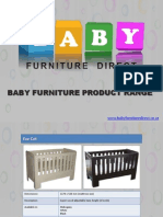 Modern Baby Furniture Sets in South Africa